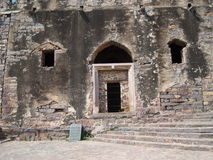 Golconda fort at Hyderabad Royalty Free Stock Images