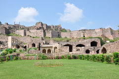 Golconda Fort. In Hyderabad, India Royalty Free Stock Photography