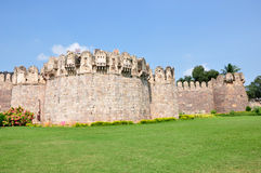 Golconda Fort. In Hyderabad, India Royalty Free Stock Photos