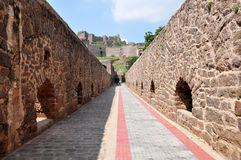 Golconda Fort. In Hyderabad, India Royalty Free Stock Image