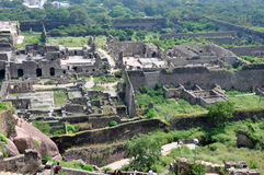 Golconda Fort Stock Photo
