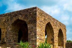 Golconda fort Hyderabad, India, - Fotografia Stock