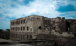 Golconda fort Hyderabad, India, - Obrazy Royalty Free