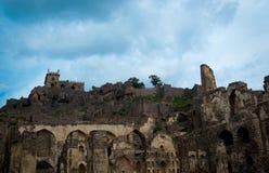 Golconda fort Hyderabad, India, - Fotografia Royalty Free
