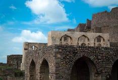 Golconda Fort,Hyderabad - India Stock Image