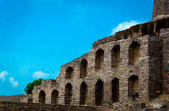 Golconda Fort,Hyderabad - India Royalty Free Stock Images