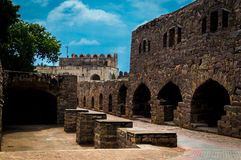 Golconda Fort,Hyderabad - India Stock Images