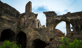 Golconda Fort,Hyderabad - India Royalty Free Stock Photography
