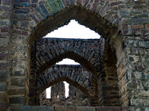 Golconda-Fort, Hyderabad - Indien Stockfoto