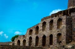 Golconda-Fort, Hyderabad - Indien lizenzfreie stockbilder