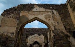 Golconda-Fort, Hyderabad - Indien stockfotografie