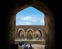 Golconda-Fort, Hyderabad - Indien Lizenzfreie Stockfotos