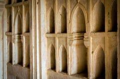 Golconda fort, Hyderabad - Indien Arkivbilder