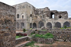 Golconda Fort in India Royalty Free Stock Photo
