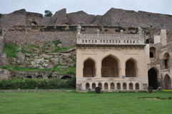 Golconda Fort in India Royalty Free Stock Images
