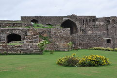 Golconda Fort in India Stock Image