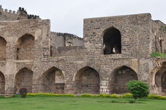Golconda Fort in India Stock Photography