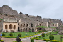Golconda Fort in India Stock Photos