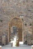 Golconda fort på Hyderabad Indien Arkivfoto
