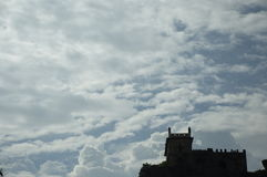 Golconda fort przy Hyderabad India Obraz Royalty Free