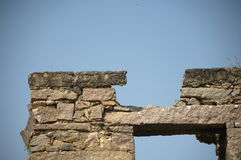 Golconda fort przy Hyderabad India Fotografia Royalty Free