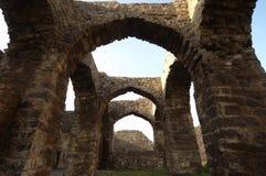 Golconda fort przy Hyderabad India Zdjęcia Stock