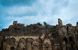 Golcondafort, Hyderabad - India Royalty-vrije Stock Fotografie
