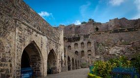 Golcondafort, Hyderabad - India Royalty-vrije Stock Afbeelding