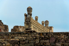Golcondafort, Hyderabad - India Royalty-vrije Stock Afbeeldingen
