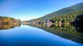 Golcuk,土耳其- 2013年10月28日:国家公园Golcuk 博卢 免版税库存图片