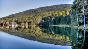 Golcuk, Τουρκία - 28 Οκτωβρίου 2013: Εθνικό πάρκο Golcuk Bolu Στοκ Φωτογραφία