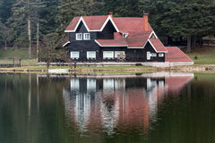 Golcuk lake Stock Image