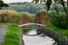 Golczewski mostek Obrazy Royalty Free