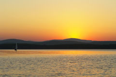 Gold湖南乌拉尔 免版税库存照片