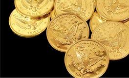 Gold Lizenzfreie Stockfotografie