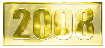 Gold 2008 Stock Image