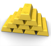 Gold Royalty Free Stock Photography