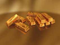 Gold Royalty Free Stock Images