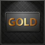 Gold Lizenzfreies Stockfoto