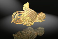 Gold 3D symbol Stock Photos