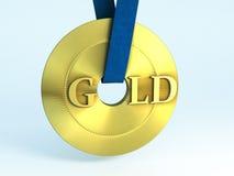 Gold. Background of a Gold medal Vector Illustration