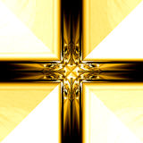 Gold. Framework for an ornament Royalty Free Stock Photos