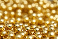Gold abstract Royalty Free Stock Photography