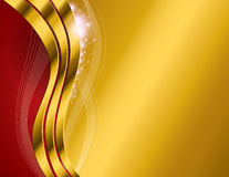 Gold Abstract Background Royalty Free Stock Photo