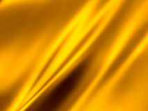 Gold Abstract Background. Gold waving satin 3d background stock photo