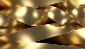 Gold Abstract Background Closeup Royalty Free Stock Image