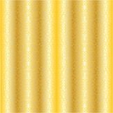 Gold abstract background with curvy ornament Royalty Free Stock Photos
