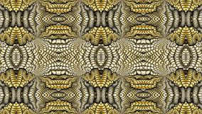 Gold abstract background for the design of textiles, the printin. Gold abstract background is computer graphics and can be used in the design of textiles, in the Stock Images