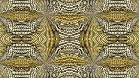 Gold abstract background for the design of textiles, the printin. Gold abstract background is computer graphics and can be used in the design of textiles, in the vector illustration