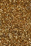 Gold abstract background. Gold abstract glitter background, close up stock image